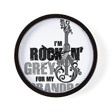 RockinGreylFor Grandpa Wall Clock