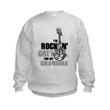 RockinGreylFor Grandma Sweatshirt