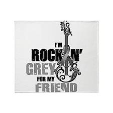 RockinGreylFor Friend Throw Blanket