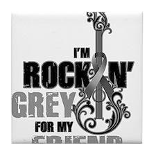 RockinGreylFor Friend Tile Coaster