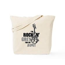 RockinGreylFor Aunt Tote Bag