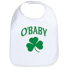 OBaby Irish Shamrock Bib