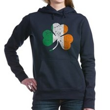 Shamrock St Pats Flag Hooded Sweatshirt