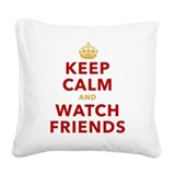 Friends tv show Square Canvas Pillows