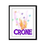 Crone Framed Panel Print