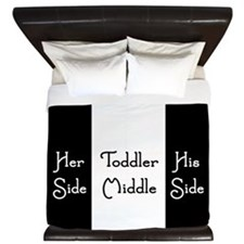 Toddler Middle King Duvet