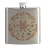 Leonberger Dogs Flask