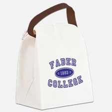 Faber College Canvas Lunch Bag