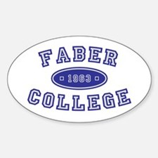 Faber College Decal