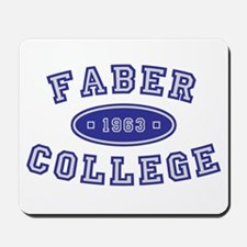 Faber College Mousepad