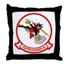 VF-191 SATAN'S KITTENS Throw Pillow