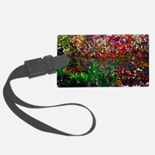 Stained Glass Fall Reflected In  Luggage Tag