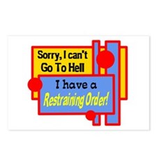 Cant Go To Hell Postcards (Package of 8)