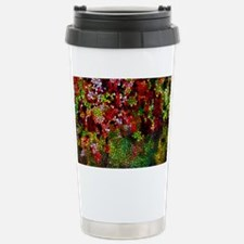 Stained Glass Autumn le Stainless Steel Travel Mug