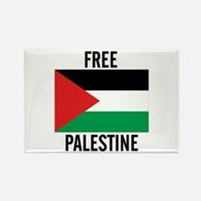 Cute Free gaza Rectangle Magnet