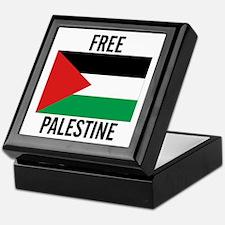 Cute Free palestine Keepsake Box