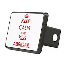 Keep Calm and Kiss Abbigail Hitch Cover