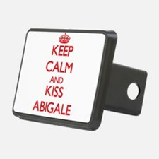 Keep Calm and Kiss Abigale Hitch Cover