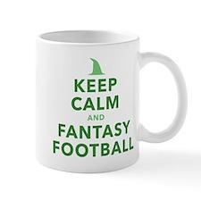 Keep Calm and Fantasy Football Mugs