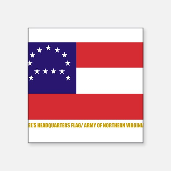 Lee's HQ Flag Rectangle Sticker