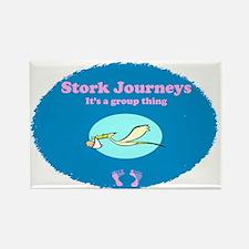 Stork Journeys Surrogacy Group Magnets