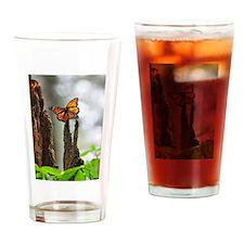 Monarch Butterflies 3 Drinking Glass