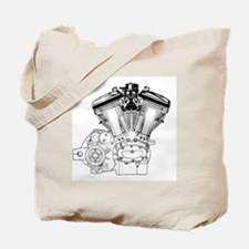 V-Twin Tote Bag