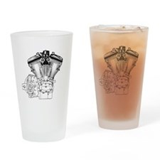 V-Twin Drinking Glass