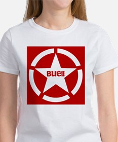 Buell Star Red Tee
