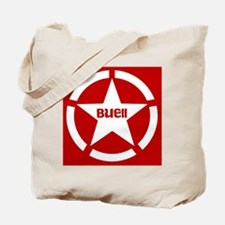 Buell Star Red Tote Bag