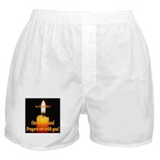 4/16/2007 Our hearts and pray Boxer Shorts