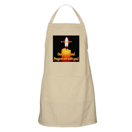 4/16/2007 Our hearts and pray BBQ Apron