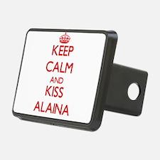 Keep Calm and Kiss Alaina Hitch Cover