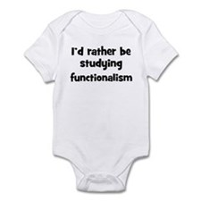Study functionalism Infant Bodysuit