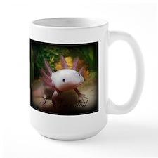 I <3 Axolotl Mugs