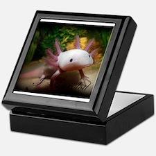 I <3 Axolotl Keepsake Box