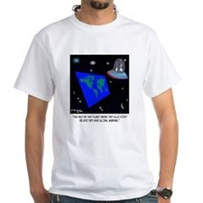 Flat Earth & No Global Warming Shirt