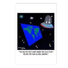 Flat Earth & No Global Wa Postcards (Package of 8)