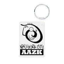 New York City AAZK Keychains