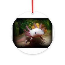 I <3 Axolotl Ornament (Round)