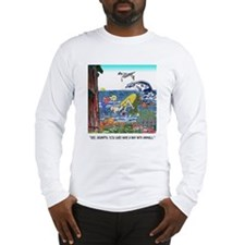 A Way With Tidepool Animals Long Sleeve T-Shirt