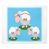 Sheep comforter Duvet Covers