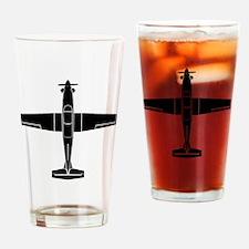Cool Texan Drinking Glass