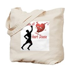 Fighting Off Tote Bag