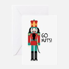 GO NUTS Greeting Cards