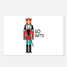 GO NUTS Postcards (Package of 8)