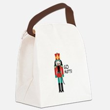 GO NUTS Canvas Lunch Bag