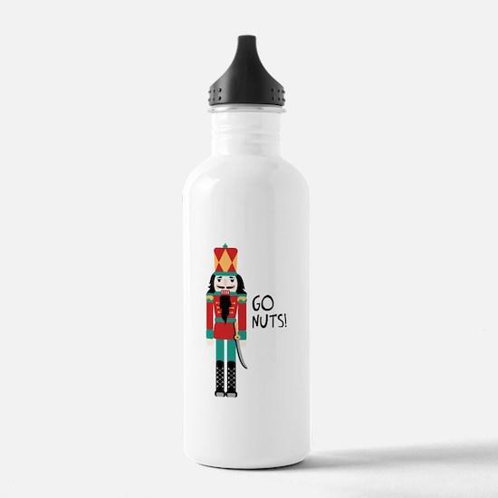 GO NUTS Water Bottle