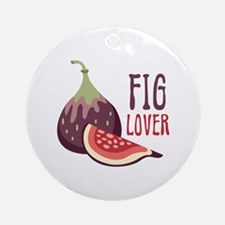 Fig Lover Ornament (Round)