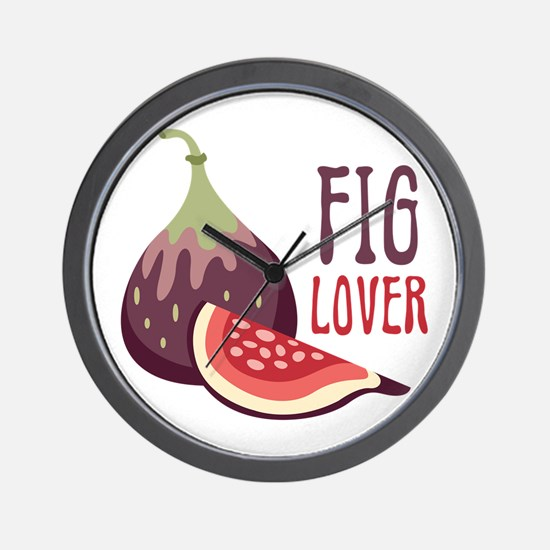 Fig Lover Wall Clock